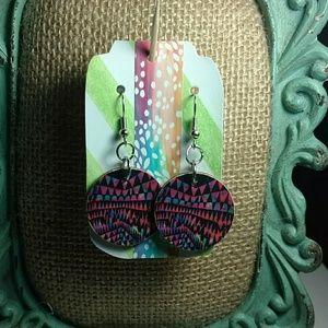 Jewelry - Bright Geometric Earrings